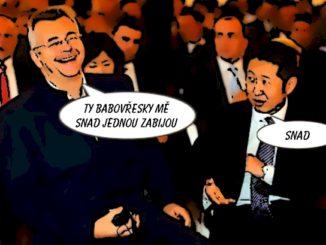 Tvrdík vzal čínskou delegaci do kina