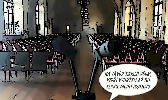 Další spojovací projev prezidenta Zemana