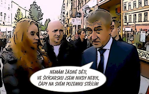 Babiš, Slonková, Kubík