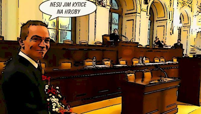 Absence ministrů