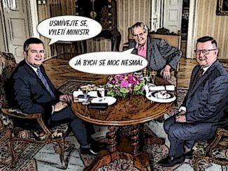 Hamáček, Staněk, Zeman