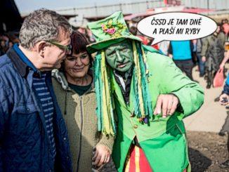 Zaorálek, vodník, ČSSD